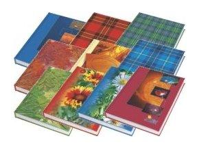 Záznamní kniha A4 čtvereček, 100 listů