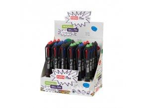 EASY FLOW 4COLOURS Přepisovatelné pero gumovací, 4 barvy