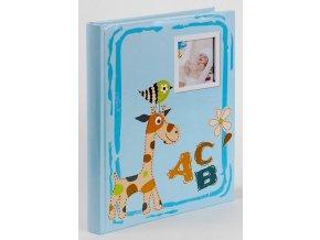 Fotoalbum samolepící BSS-20 ABC modré