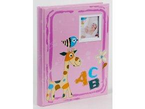 Fotoalbum samolepící BSS-20 ABC růžové