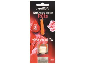 Vůně do AUTA 5 ml - RŮŽE