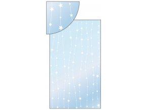 Sáček průhledný s hvězdičkami na lince 20x35cm 100ks 13501