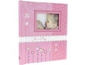 Fotoalbum samolepící DRS-30 Bambini růžový
