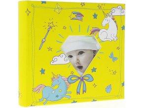 Fotoalbum 10x15/200foto BBM46200/2 Baby-5G žlutý