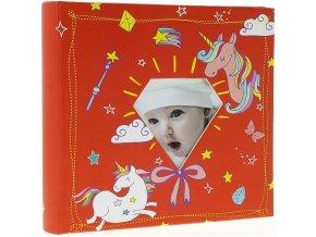 Fotoalbum 10x15/200foto BBM46200/2 Baby-5G červený