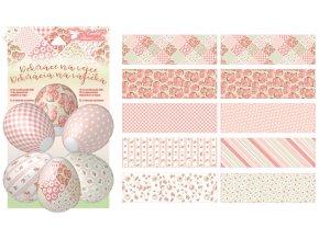 Smršťovací dekorace na vejce dekupáž 10 ks 7735