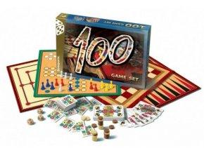 Soubor her 100-společenská hra v krabici 35x23cm
