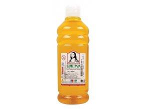 Lepidlo Slime PVA Glue Mona Lisa 500 ml oranžová