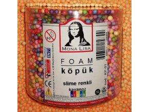 Pěnové kuličky 3-4mm k Slime PVA Glue Mona Lisa