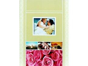 Fotoalbum samolepící DRS-20(CW) Hold me 2 růžové růže