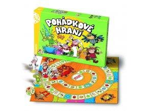Pohádkové hraní Večerníček společenská hra v krabici 35x23x4cm
