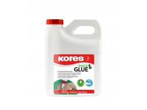 Lepidlo White glue PVA 1000g KORES