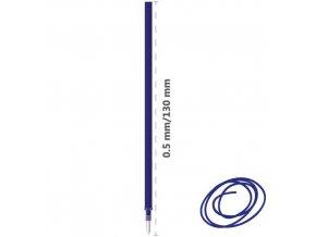 Náplň gumovací M&G iErase 0,5 mm - modrá