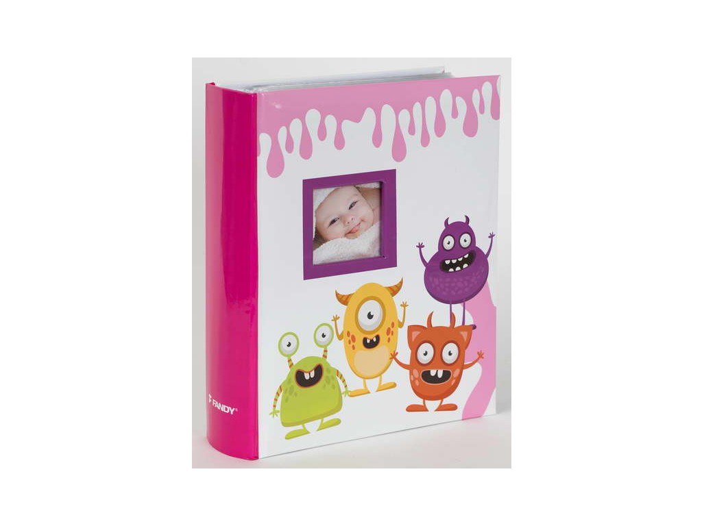 Fotoalbum 10x15/300foto B-46300/2SB Spookies 2 růžové