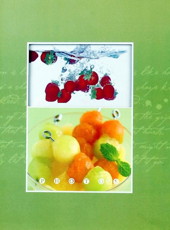 Fotoalbum 10x15/200foto B-46200 Fruity zelený