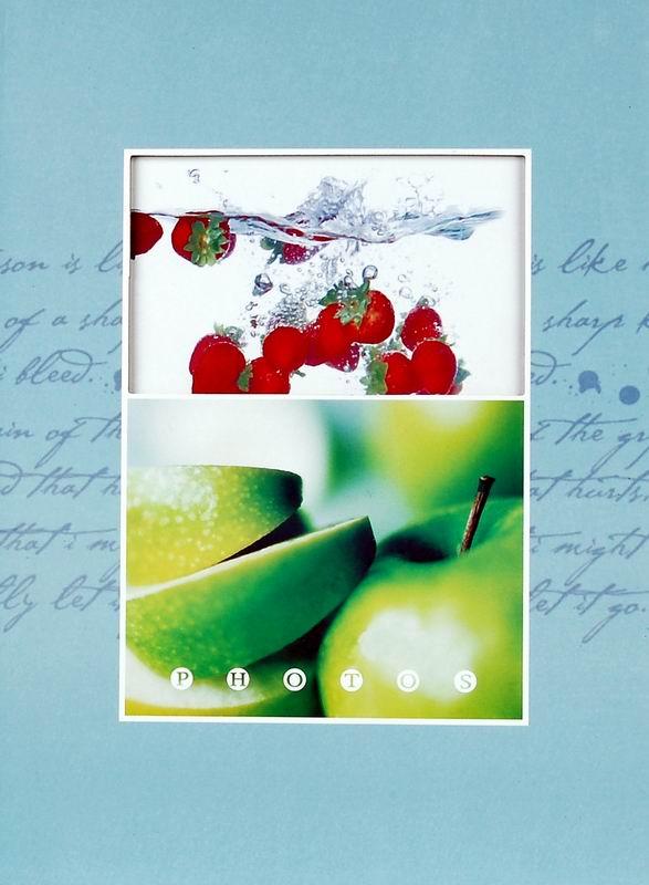 Fotoalbum 10x15/200foto B-46200 Fruity modrý