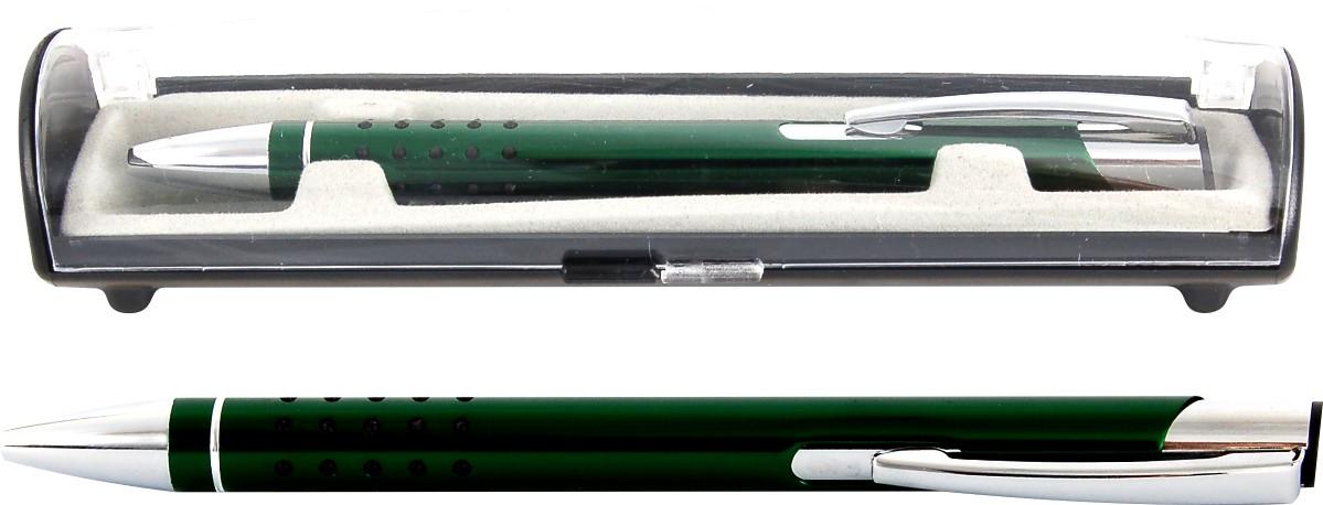 Psací souprava Veno rubber kuličkové pero tmavě zelená