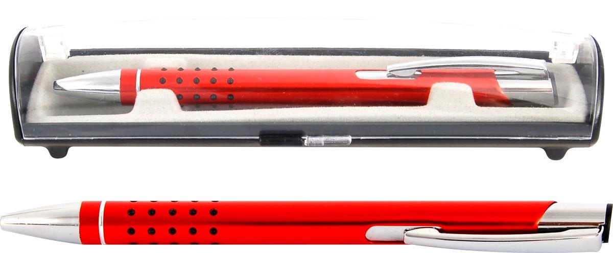 Psací souprava Veno rubber kuličkové pero oranžová