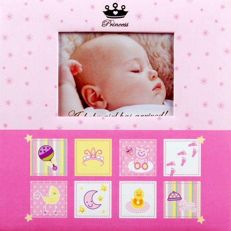Fotoalbum 10x15/200foto Baby-3 růžový