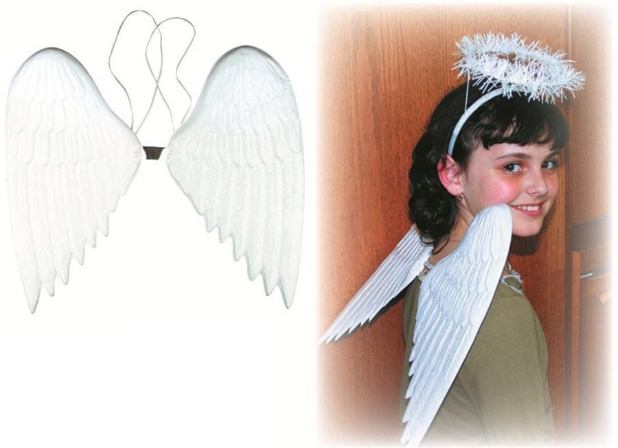 Andělská křídla plastová 36 cm 5853
