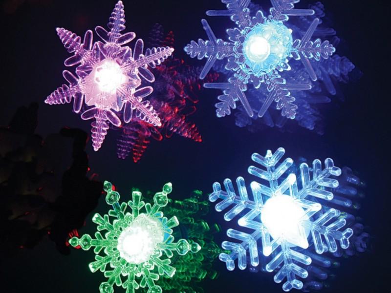 Vločka LED akrylátová