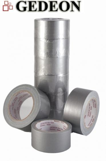 Textilní lepící páska Gedeon 48mm x 25m stříbrná (silver)