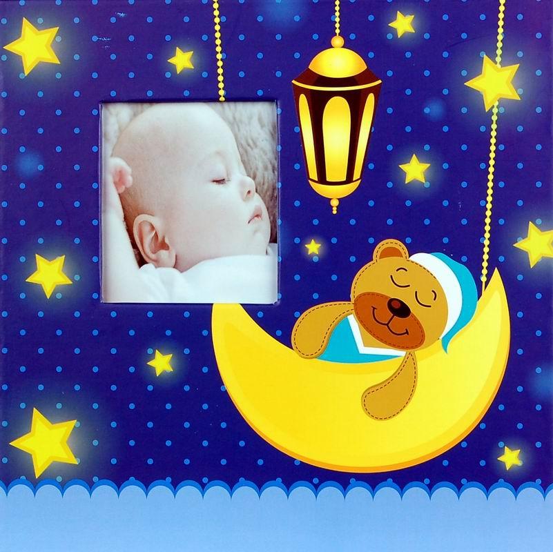 Fotoalbum 10x15/200foto Baby 35 modrý