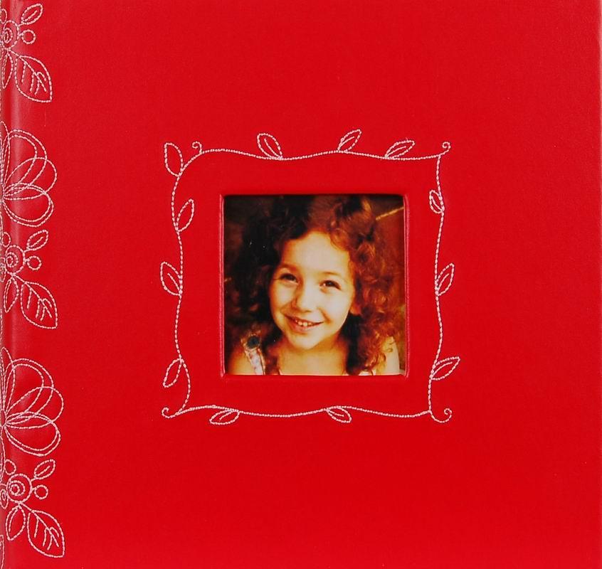 Fotoalbum 10x15/200foto Decor 206 červený