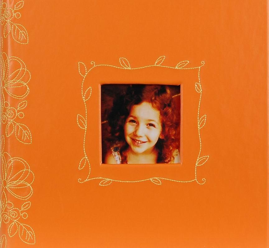 Fotoalbum 10x15/200foto Decor 206 oranžový
