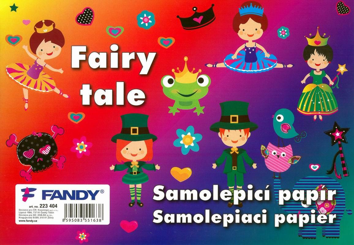 Samolepicí papíry Fairytale