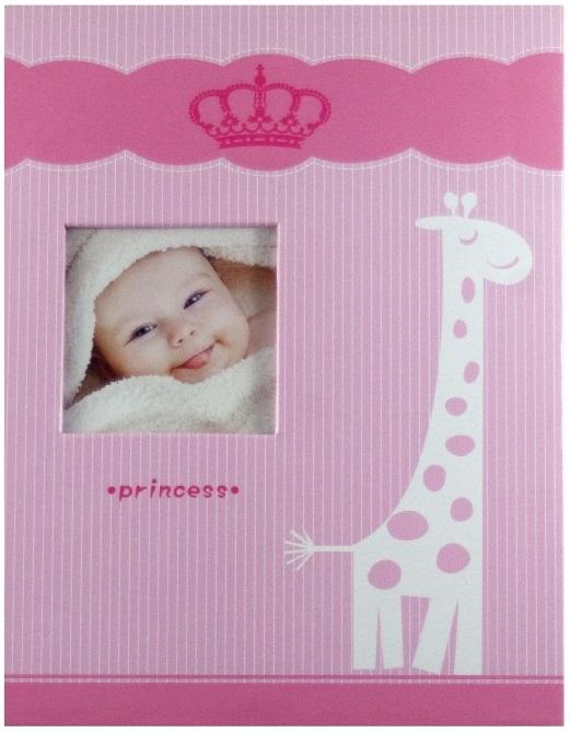 Fotoalbum 9x13/100foto Giraffe růžový