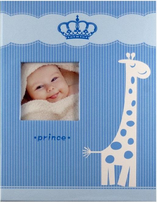 Fotoalbum 9x13/100foto Giraffe modrý