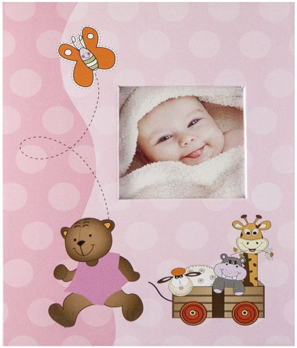 Fotoalbum na fotorůžky DBCL-30 Cheerful růžový