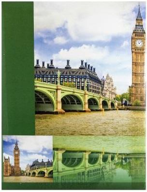 Fotoalbum 10x15/300foto B-46300 Town zelený