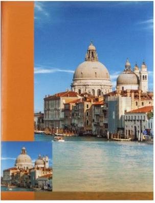 Fotoalbum 10x15/300foto B-46300 Town oranžový