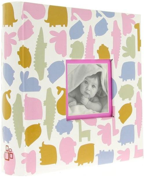 Fotoalbum 10x15/200foto Dino růžový