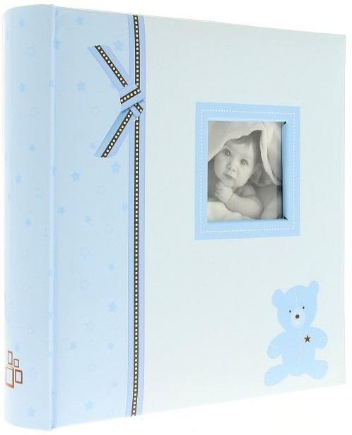 Fotoalbum 10x15/200foto Plush modrý