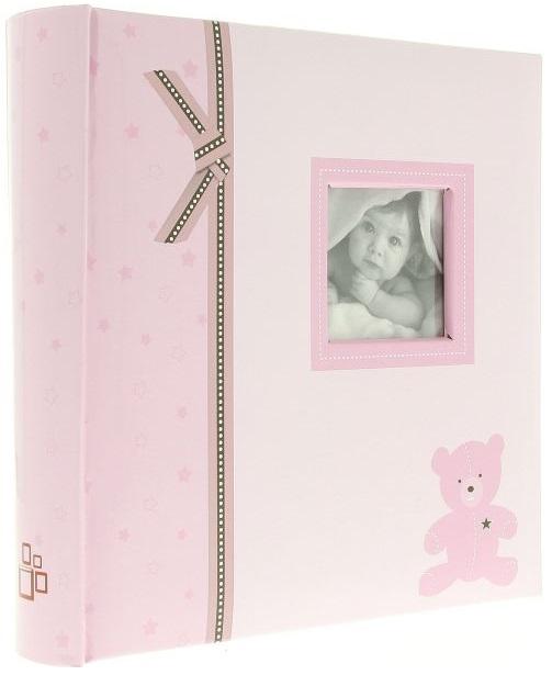 Fotoalbum 10x15/200foto Plush růžový