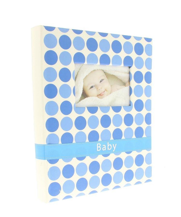 Fotoalbum samolepící BSS-20 Bambino modrý