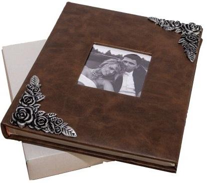 Fotoalbum na fotorůžky DBCL-50(B) Brass hnědý - 2 POSLEDNÍ KUSY -