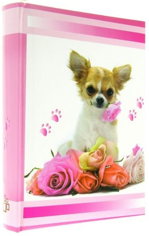 Fotoalbum 10x15/300foto KD-46300 Lovely růžový
