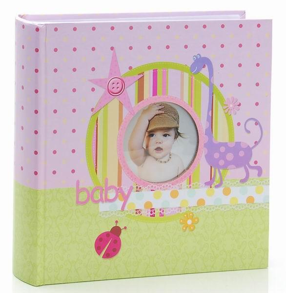 Fotoalbum 10x15/200foto KD-46200MA Little star růžový - 2 POSLEDNÍ KUSY -