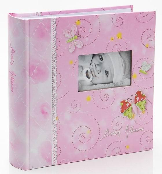 Fotoalbum 10x15/200foto KD-46200MA Tender růžový