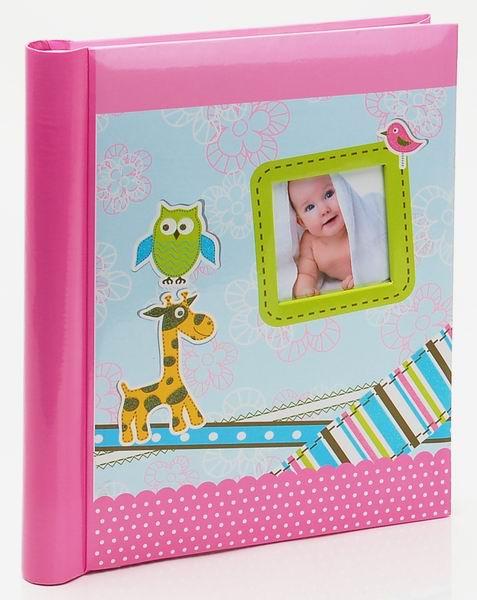 Fotoalbum samolepící DRS-20 Giraffe 2 růžový