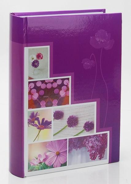 Fotoalbum 10x15/300foto B-46300S Pastel vase fialový
