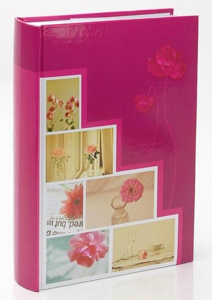 Fotoalbum 10x15/300foto B-46300S Pastel vase růžový