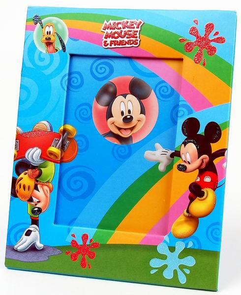 Fotorámeček 10x15 D46 H2 Disney Mickey duha