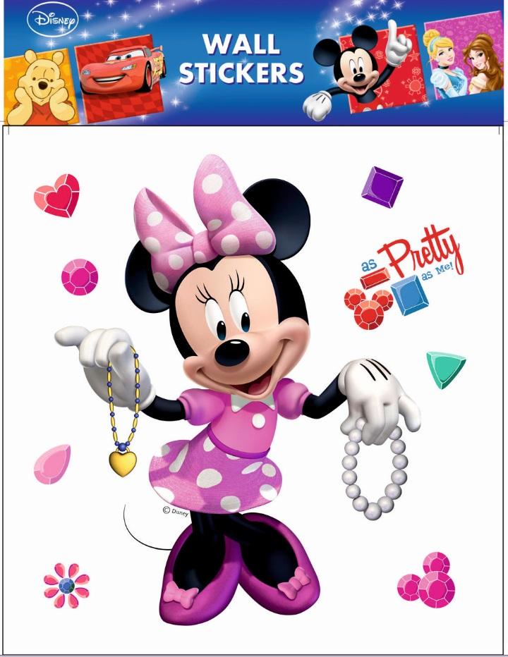 Samolepky na zeď Disney Minnie Mouse 21084 , 30x39cm