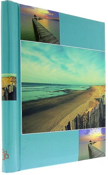 Fotoalbum samolepící DRS-30 Beach světle modrý