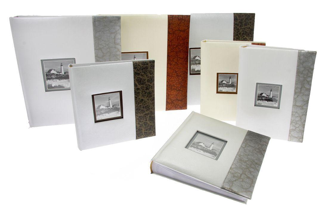 Fotoalbum na fotorůžky DBCL-30 Premium 2 hnědý pruh - 2 POSLEDNÍ KUSY -